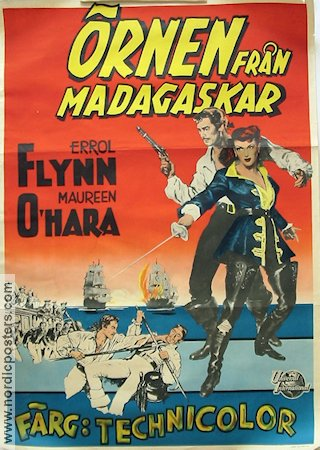 Against All Flags 1953 Errol Flynn Maureen O'Hara