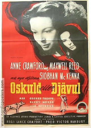 Daughter of darkness 1949 poster Anne Crawford