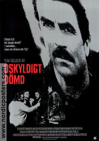 An Innocent Man 1989 poster Tom Selleck Peter Yates