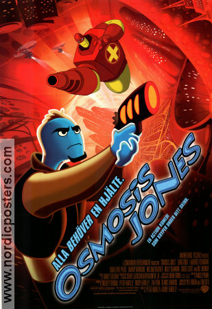 Osmosis Jones 2001 poster Bobby Peter Farrelly