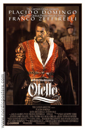 Otello 1986 Franco Zeffirelli Placido Domingo William Shakespeare