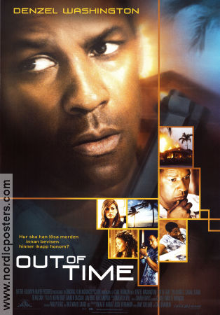 Out of Time 2003 poster Denzel Washington