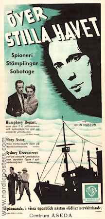 Across the Pacific 1942 poster Humphrey Bogart