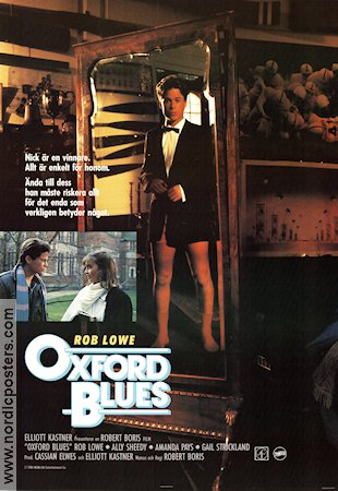 Oxford Blues 1984 Movie poster Rob Lowe
