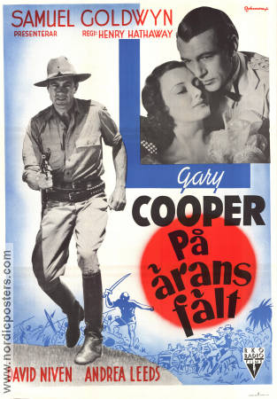 The Real Glory 1939 Movie poster Gary Cooper