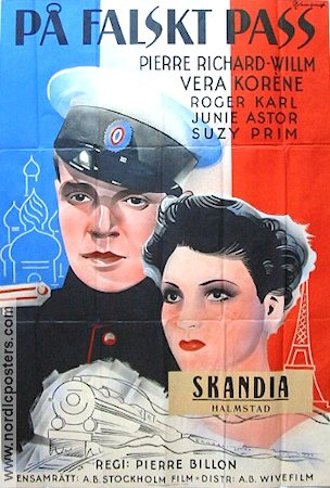 Au service du Tsar 1937 poster Pierre Richard-Willm Pierre Billon