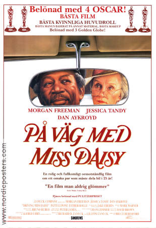 Driving Miss Daisy 1994 poster Morgan Freeman
