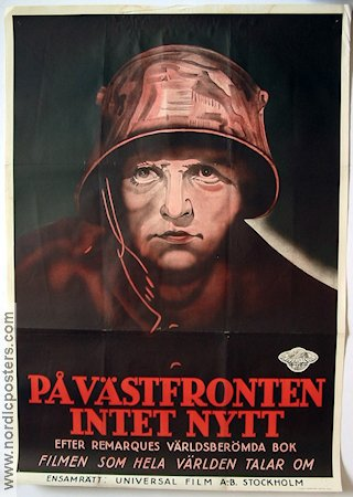All Quiet on the Western Front 1932 poster Lewis Milestone