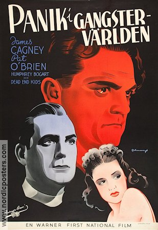 Angels with Dirty Faces 1939 poster James Cagney Michael Curtiz