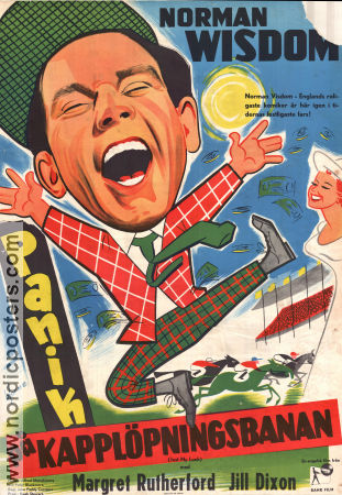 Just My Luck 1957 poster Norman Wisdom John Paddy Carstairs