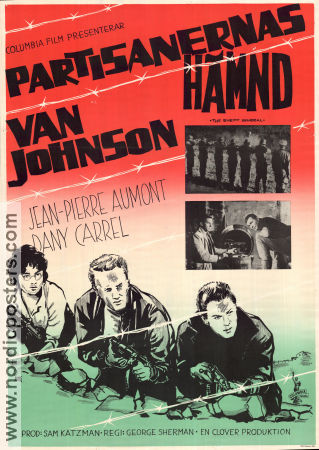 The Enemy General 1960 poster Van Johnson George Sherman