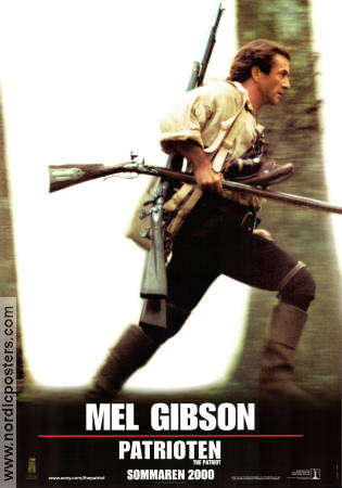 The Patriot 2000 Movie poster Mel Gibson