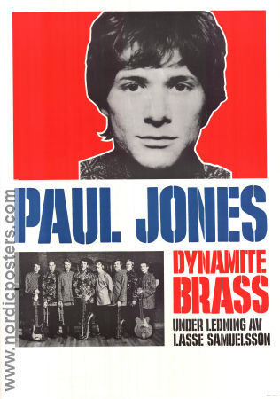 Paul Jones 1968 poster Dynamite Brass