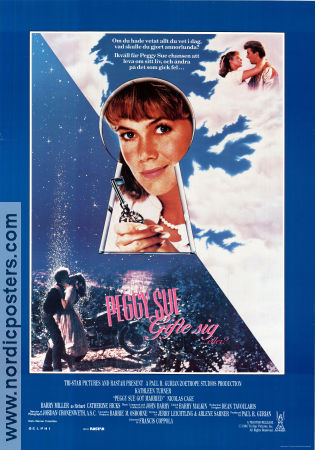 Peggy Sue Got Married 1986 poster Kathleen Turner Francis Ford Coppola