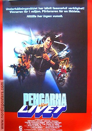 The Prize of Peril 1983 Movie poster Gerard Lanvin