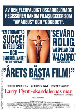 The People vs Larry Flynt 1998 Milos Forman Woody Harrelson