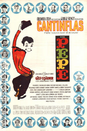 Pepe 1960 poster Cantinflas George Sidney