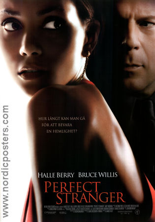 Perfect Stranger 2007 poster Halle Berry James Foley