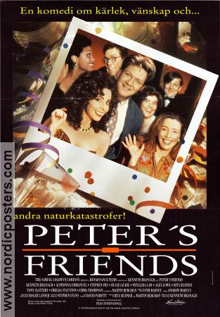 Peters Friends Poster 1992 Stephen Fry Director Kenneth Branagh Original
