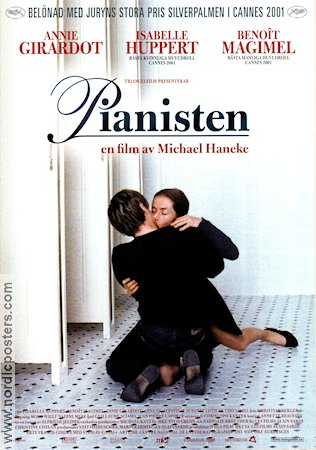 La Pianiste 2001 Movie poster Annie Girardot Michael Haneke