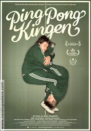 Ping-Pongkingen 2008 Movie poster Jerry Johansson
