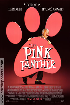 The Pink Panther 2006 poster Steve Martin Shawn Levy