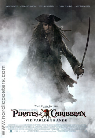 Pirates of the Caribbean: At World´s End 2007 poster Johnny Depp