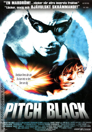 Pitch Black 2000 poster Radha Mitchell David Twohy