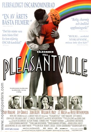 Pleasantville 1998 poster Tobey Maguire