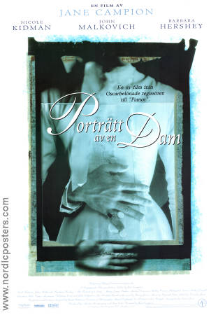 The Portrait of a Lady 1997 poster Nicole Kidman Jane Campion