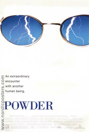 Powder 1995 Movie poster Jeff Goldblum