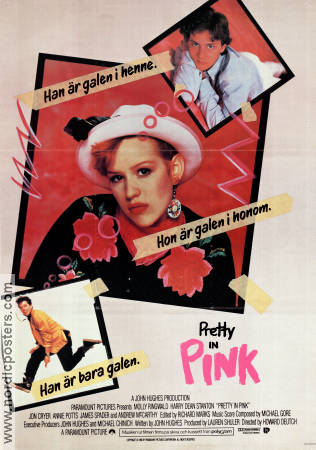 Pretty in Pink 1986 Molly Ringwald Harry Dean Stanton