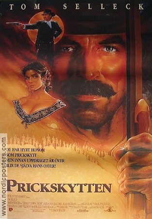 Quigley Down Under 1990 poster Tom Selleck Simon Wincer