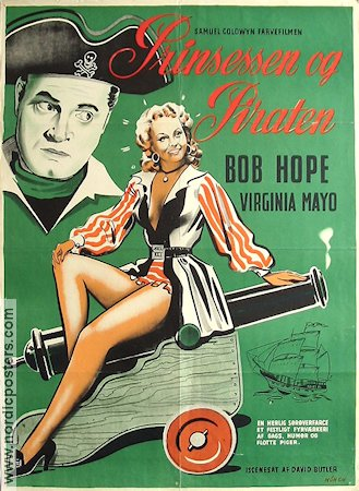 The Princess and the Pirate 1944 poster Bob Hope