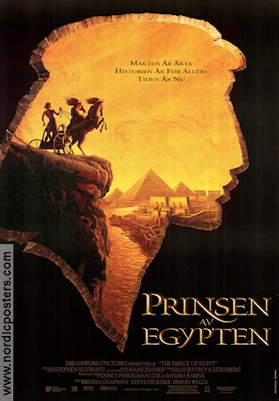 The Prince of Egypt 1998 poster