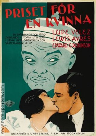 East Is West 1930 poster Lupe Velez