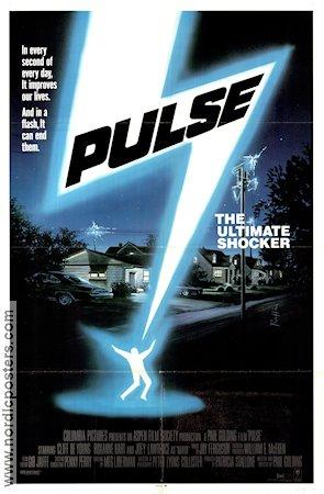 Pulse poster USA 1988 ...