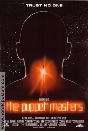 The Puppet Masters 1994 poster Donald Sutherland