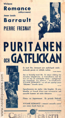 Le puritain 1938 poster Pierre Fresnay