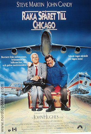 Planes Trains and Automobiles 1988 John Hughes Steve Martin John Candy