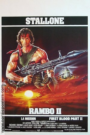 Rambo First Blood 2 1985 Sylvester Stallone