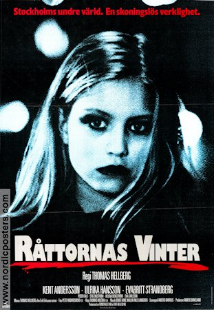 Råttornas vinter 1988 Movie poster Ulrika Hansson