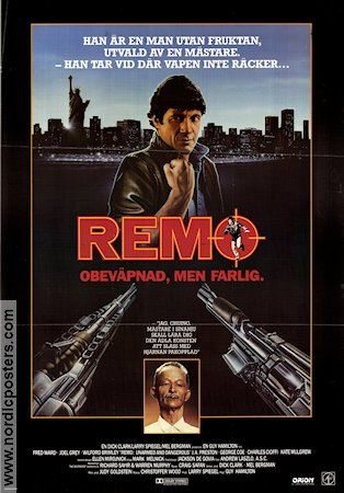 Remo Unarmed and Dangerous 1985 Fred Ward