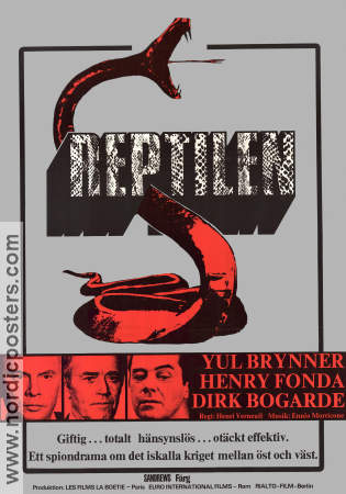 The Serpent 1972 poster Yul Brynner Henri Verneuil