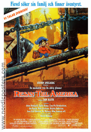 An American Tail 1986 Don Bluth