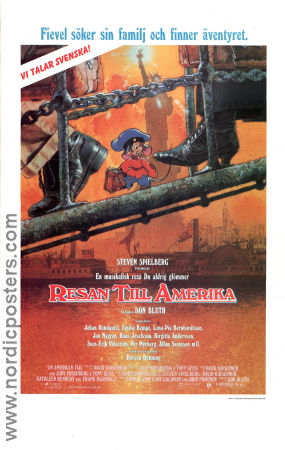 An American Tail 1986 poster Don Bluth