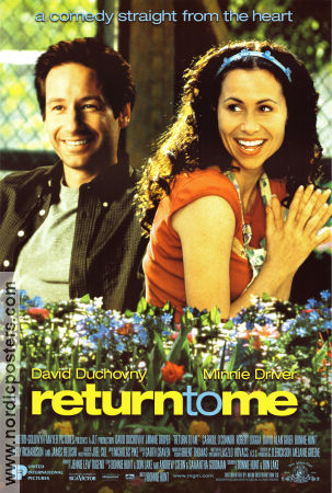 Return to Me 2000 poster David Duchovny