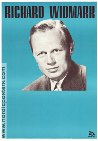 Richard Widmark stock poster 1958 poster Richard Widmark