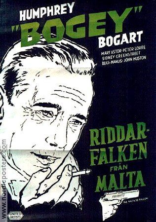 The Maltese Falcon 1941 Humphrey Bogart Peter Lorre