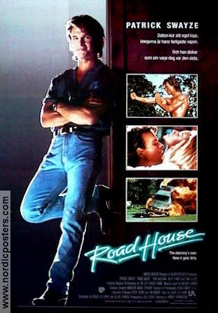 Road House 1989 Movie poster Patrick Swayze